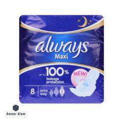 Always maxi-thik-extra-long-8-pads