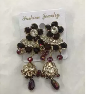 crystal-studded-earrings