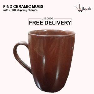 ceramic-mug-dark-brown