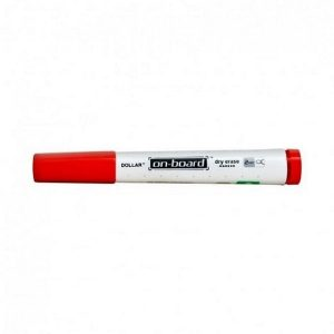 dollar-red-board-marker